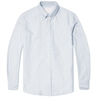 Tripl Stitched Button Down Oxford Shirt Sky Blue