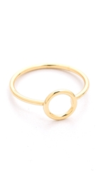 Shashi Circle Ring Gold