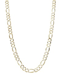 Macy's 22' Men's Figaro Chain 6Mm Necklace In 14K Gold