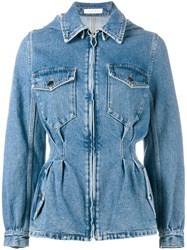 J.W.Anderson Tailored Denim Jacket Blue
