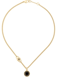 Marc By Marc Jacobs Logo Disc Chain Necklace