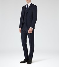 Reiss Monarch Modern Fit Suit In Bright Blue