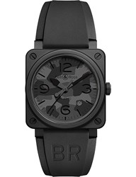 Tissot Br0392 Camo Pvd Coated And Rubber Watch