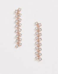 Ted Baker Princess Sparkle Drop Earring Gold