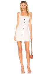 By The Way Demi Button Up Mini Dress White