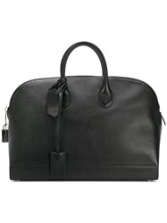 Calvin Klein Large Tote Leather Black