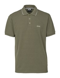 Jeep Athletic Polo Green