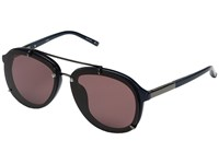 3.1 Phillip Lim Pl162c3sun Navy Gunmetal Purple Fashion Sunglasses Brown