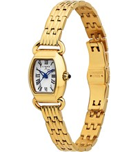 Links Of London 6010.2162 Driver Mini Tonneau Rose Gold Plated Watch