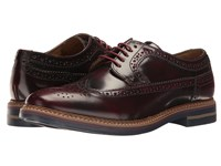 Base London Turner Bordo Men's Lace Up Casual Shoes Burgundy