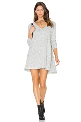 Knot Sisters Claire Dress Light Gray