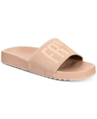Frye Lola Slide Sandals Women's Shoes Blush
