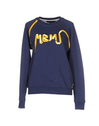 Marc By Marc Jacobs Sweatshirts Dark Blue