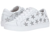 Skechers Side Street Star Side White Silver Lace Up Casual Shoes