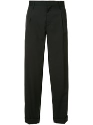 Kolor Tapered Tailored Trousers Black