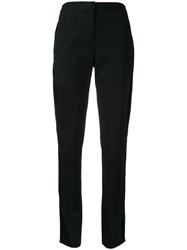 Bianca Spender Stripe Tuxedo Trousers Black