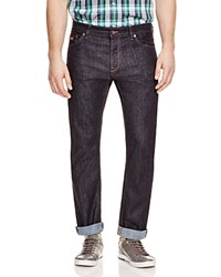 Hugo Boss Boss Maine Stretch Straight Fit Jeans In Blue Wash