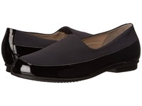Ecco Touch Ballerina Stretch Black Black Women's Flat Shoes