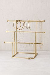 Urban Outfitters Emilia Tiered Jewelry Stand Gold