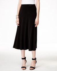 Alfani Petite Pull On A Line Skirt Only At Macy's Deep Black