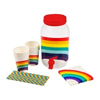 Sunnylife Rainbow Drink Dispenser Kit