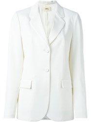 Ports 1961 Flap Pocket Blazer Nude And Neutrals