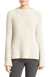 Joseph Women's Wool Blend Crewneck Sweater Ecru