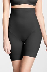 Plus Size Women's Tc 'Shape Away' High Waist Shaping Thigh Slimmer Black