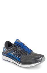 Brooks Men's 'Glycerin 14' Running Shoe Anthracite Blue Silver