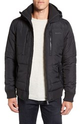 Men's Bench. Armature Quilted Hooded Puffer Jacket