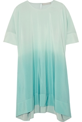 Richard Nicoll Stella Degrade Silk Crepe De Chine Mini Dress