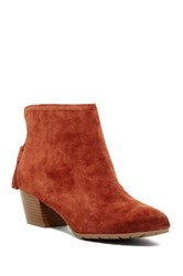 Kenneth Cole Reaction Pil Age Bootie Red