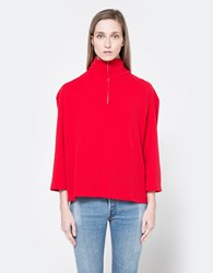 House Of Sunny Casual Zipper Top Solange