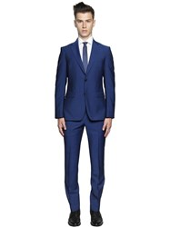 Z Zegna Voyage Wool And Mohair Poplin Suit