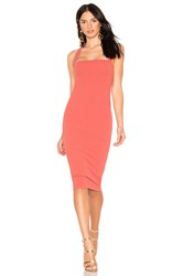 Nookie X Revolve Boulevard Midi Dress Rust
