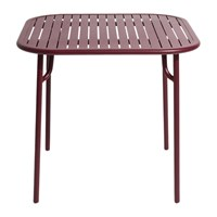 Petite Friture Week End Side Table Red