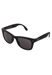 Superdry Rock And Roll Sunglasses Rubberised Black Black