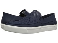 Crocs Citilane Roka Slip On Navy White Men's Slip On Shoes Blue