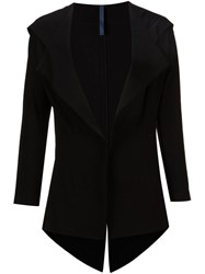 Nocturne 22 Nocturne 22 Hooded Blazer Jacket Black