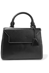 Sandro Alecia Mini Leather Tote Black
