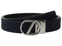 Z Zegna Adjustable Reversible Bgomc1 35Mm Belt Blue Black Men's Belts