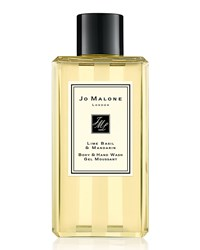 Lime Basil And Mandarin Body And Hand Wash 100 Ml Jo Malone London Orange
