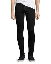 Cheap Monday Tight Slim Fit Denim Jeans Black