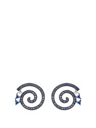 Eddie Borgo Apollo Gunmetal Plated Earrings