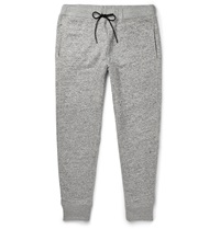 Theory Moris P Melange Jersey Sweatpants Gray