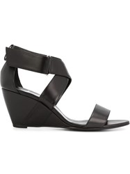 Pierre Hardy Wedged Sandals Black