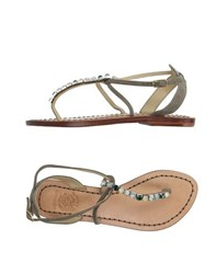 Maliparmi Footwear Thong Sandals Women
