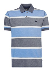 Army And Navy Davis Stripe Polo Shirt