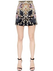 Just Cavalli Printed Techno Duchesse Skirt