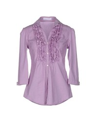 Massimo Rebecchi Shirts Shirts Women Purple